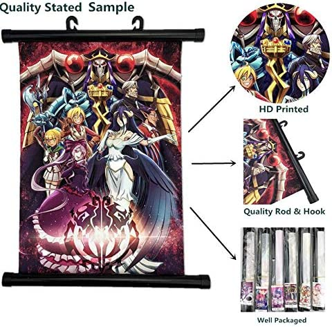 Overlord Print Wall Poster Scroll Room Decor 40x60 CM//16X24 In