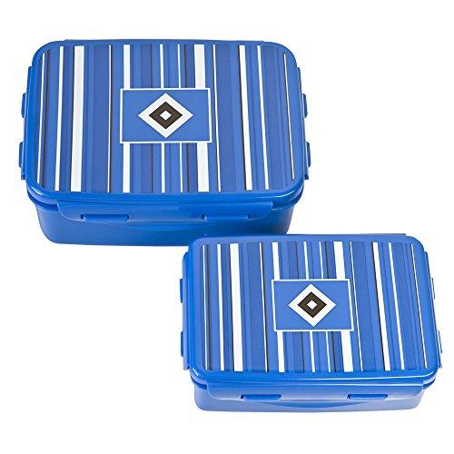 Hamburger SV Brotdose clip & close 2er-Set