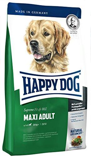 Happy Dog hondenvoer, per stuk verpakt (1 x 300 g), Maxi volwassenen, 0,3 kg