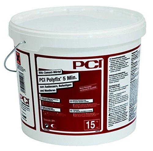 PCI POLYFIX Blitzzement 5 MIN 15kg Eimer