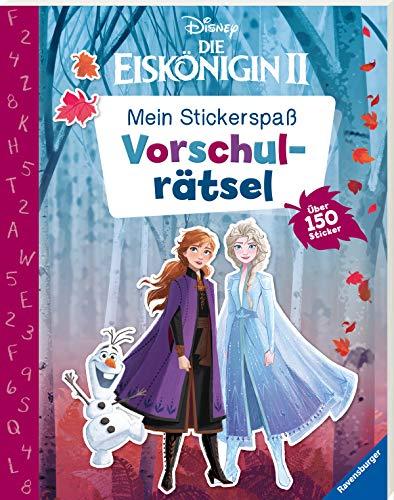 Mein Stickerspaß Disney Die Eiskönigin 2: Vorschulrätsel: Über 150 Sticker