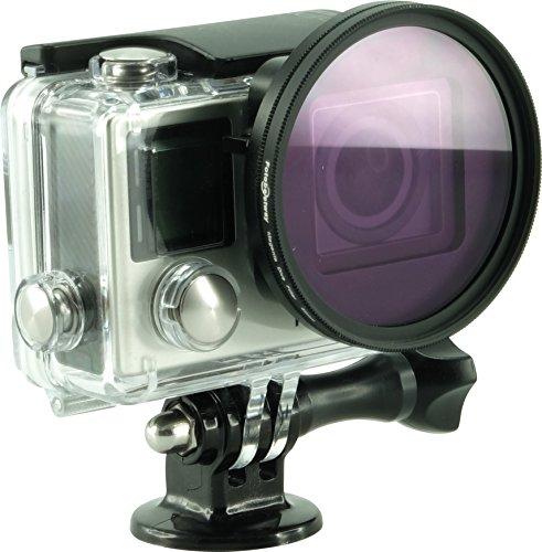 Rollei lensfilter set voor GoPro Hero 3/3+/4/UV/CPL/magenta/rood filter