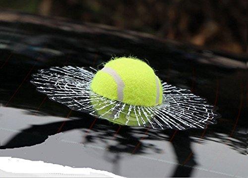 KUNFINE 3D Tennis Ball Auto Styling Aufkleber Hit Windows Lustige Auto Windschutzscheibe Dekoration Self Adhesive Decal Zubehör