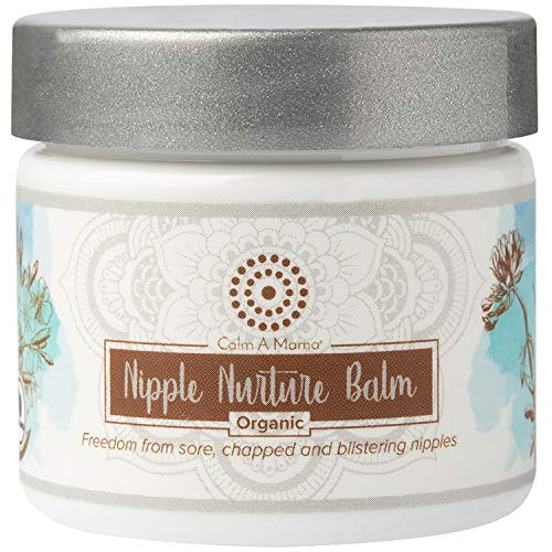 Nipple Butter For Breastfeeding Moms (2 oz.) - Lanolin-Free Nipple Balm For Sensitive Skin - USDA Organic Certified - Hypoallergenic - No Need To Wash Off