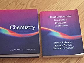Chemistry 7th Edition Zumdahl Textbook + Student Solutions Guide