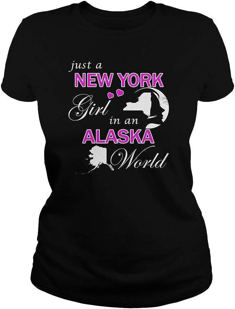 Just a New York Girl in an Alaska World T-Shirts