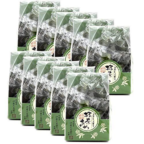 伊藤久右衛門 宇治抹茶あめ 15粒 飴 袋入り ×10袋セット