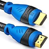 deleyCON 20m Cable HDMI Activo con Ecualizador Extensor de Amplificador UHD 2160p 4K@30Hz 3D Full HD 1080p@60Hz ARC Alta Velocidad con Ethernet