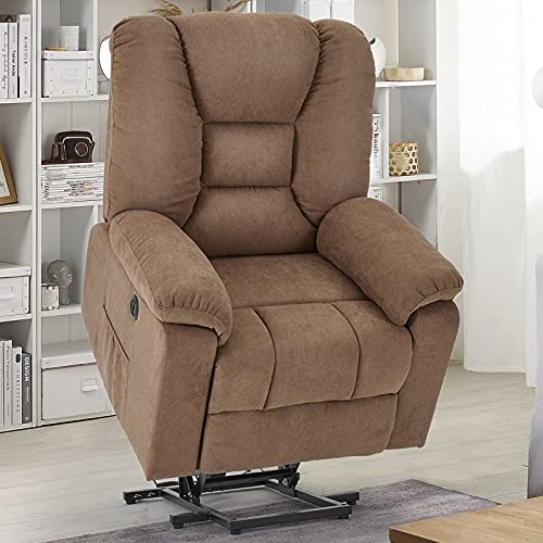 YODOLLA Larger Lift Chair for Elderly, Big and Tall Lift Recliner with Side...