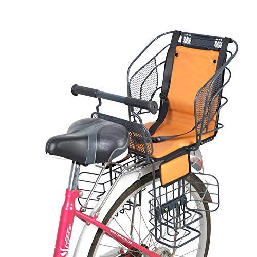 JTYX Kinderen Fiets Veiligheid Zitplaatsen Achterstoel met Veilige Riem Dik voor Elektrische Fiets