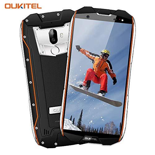 Cellulari Offerte, OUKITEL WP5000 Rugged Smartphone, Fotocamera 16MP+8MP, Impermeabile IP68, Antipolvere, Antiurto, 4G Dual SIM 5.7 pollici Android 7.1, Octa Core 6GB RAM+64GB ROM Batteria 5200mAh