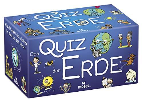 moses. 90325 Das Quiz der Erde | Kinderquiz | Für Kinder ab 8 Jahren, bunt