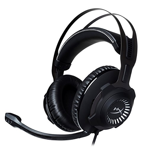 HyperX HX-HSCR-GM Cloud Revolver - Cascos de Gaming para PC/PS4/Mac, Negro