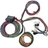 12 Circuit Universal Street Rod Wiring Harness w/Detailed Instructions