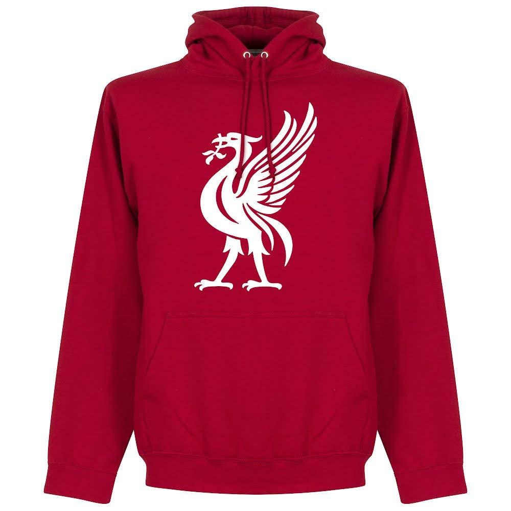Sudadera con capucha de equipo de fútbol inglés «Liverpool», color rojo Rojo rosso Small: Amazon.es: Deportes y aire libre