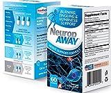 NeuropAWAY Nerve Supporto formula - sollievo neuropatia dolore, i piedi bruciore, formicolio, intorpidimento, dolore alle gambe (60 Capsule - giorno)