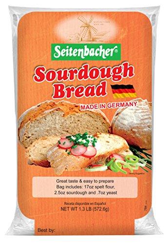 Seitenbacher German Sourdough Bread Mix, 1.3 lbs, 6 Count