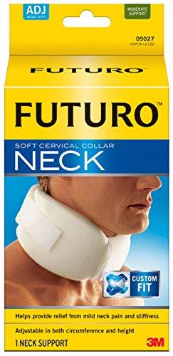 FUTURO Soft Cervical Collar, Adjustable, White