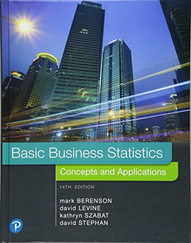 Basic Business Statistics Plus MyLab Statistics with Pearson eText -- 24 Month Access Card Package (14th Edition)