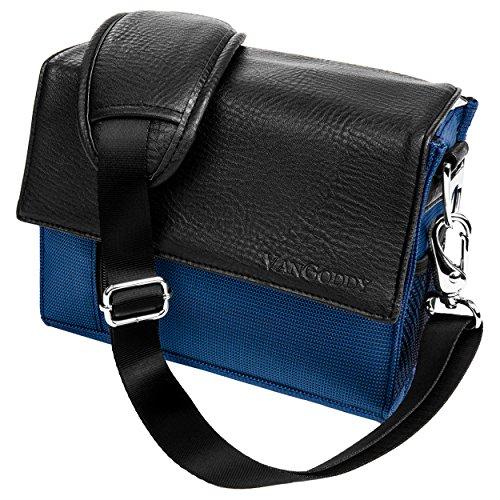 Ladies Purple Shoulder Bag Gadget Bag Fits Nikon SLR DSLR Cameras/Zoom Lens Accessory Pack
