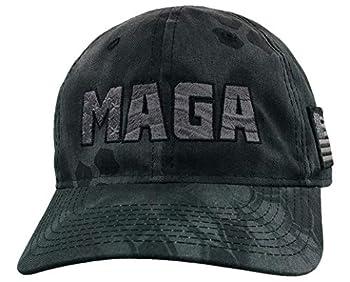 Treefrogg Apparel MAGA Hat - Kryptek Typhon Camo - Structured Trump Cap
