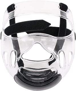 Owlhouse Sports Helmet Mask, Taekwondo Headgear Guard Boxing Headgear with Face Shield, Head mask Karate Head Boxing Sanda mask Helmet Fencing for Adult Children Men Women