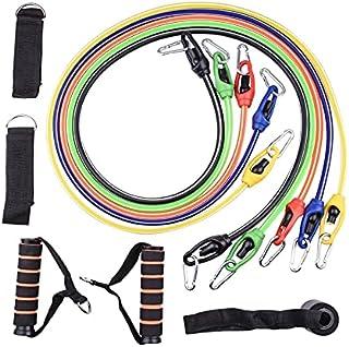 11 i 1 100 pund multifunktionell TPE rally motståndsband muskelträning elastiskt rep fitnessutrustning lijiaxin