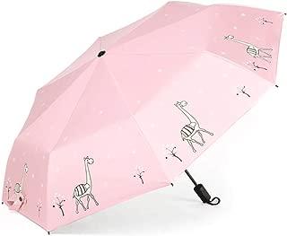 SHANGRUIYUAN-Umberllas Parasol Outdoor Umbrellas for Men Women Kids Mini Travel Sun Rain Windproof Umbrella (Color : Pink, Size : Free)