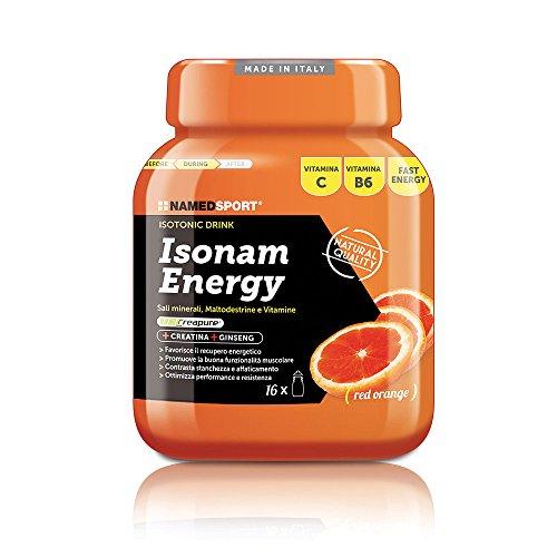 Isonam Energy - Named - Bevanda idrosalina isotonica con Sali Minerali, Maltodestrine e Vitamine (Gusto: LIMONE)