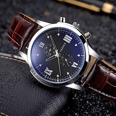 XKC-watches Herrenuhren, YAZOLE Herrn Sportuhr Militäruhr Kleideruhr Modeuhr Armband-Uhr Armbanduhren für den Alltag Armbanduhr Chinesisch Quartz Kalender PU Band