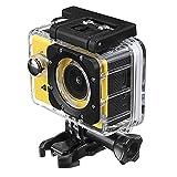 Cámara deportiva 2 pulgadas 4K 1080P Ultra HD a prueba de agua WiFi Cámara de acción deportiva DVR para cámara impermeable al aire libre (Color: Plata, Tamaño: Talla única)