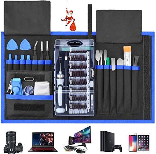 Schraubendreher Set 87 in 1 Magnetischer Präzisions-Schraubendreher-Satz Werkzeug Reparatur-Set für Smartphones Tablets, PCs, Konsolen, Kameras, Uhren, Brillen, Modellbau, Playstation by FUJIWAY