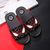 xinlianxin Nuevas zapatillas para niños de verano con dibujos animados y encantadoras sandalias para bebés y niñas, zapatos de agua para la playa (color: negro, tamaño del zapato: 26)
