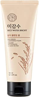 The Face Shop Rice Water Bright Rice Bran Cleansing Foam, 150 ml