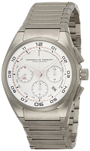 Porsche Design Dashboard Chronograph Automatic Titanium Mens Strap Watch Calendar 6620.11.66.0268