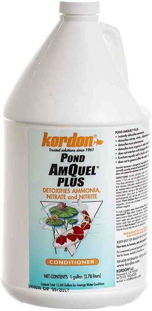 Kordon #30021 Pond Amquel Columbus Mall Plus-Pond Conditioners trust Water Aquar for