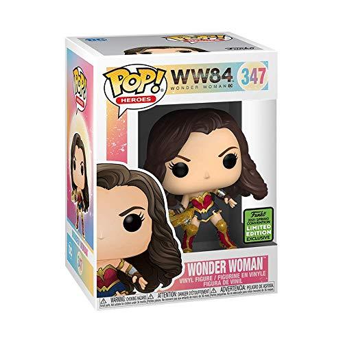 FUNKO POP DC WW84 EXCLUSIVE ECCC 2021 - WONDER WOMAN 347