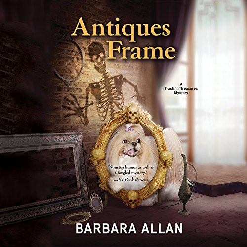 Antiques Frame audiobook cover art