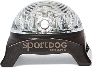 SportDOG Brand Locator Beacons - Bright, Waterproof Dog Collar Light with Carabiner - Flashing or Solid Safety Light