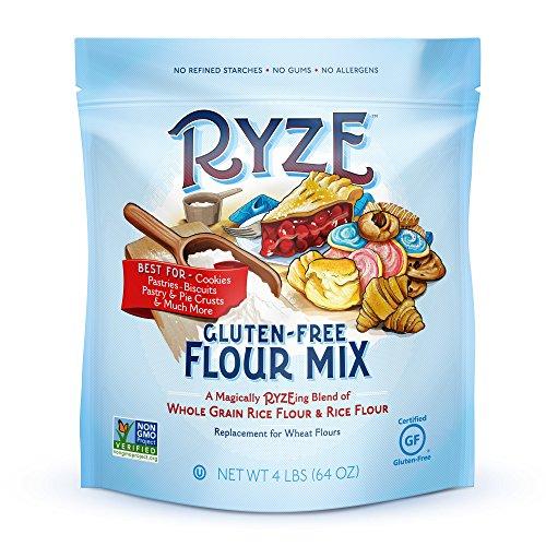 RYZE Gluten Free Flour - Natural, No Fillers, 4lbs