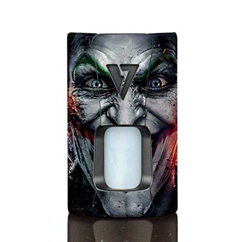 Wrap for Desire Design Tech OHM Boy Rage Squonk Skin Skins Jester 02 Vinyl Decal Sticker