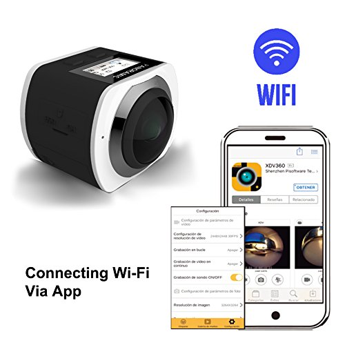 See the TOP 10 Best<br>360 Degree Panoramic Wifi 4K Action Camera