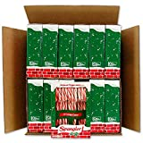 Spangler Red and White Peppermint Candy Canes 12-12 Count Boxes