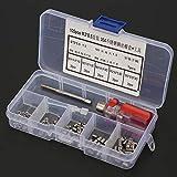 Juego de 105 piezas de herramientas antisísmicas para reparación de roscas de alta resistencia para electrónica (M3 x 0,5)