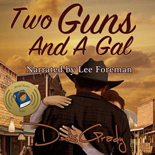 Two Guns and a Gal audiobook cover art