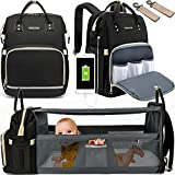 Baby Diaper Bag Backpack, WOWTINA Diaper Bag with Changing Station, Diaper Bags for Baby Boy Girl,...
