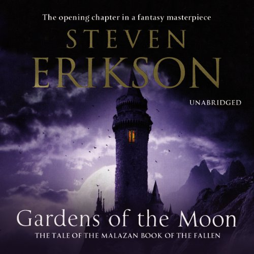 Gardens of the Moon: Malazan Book of The Fallen 1 - Volume 2 audiobook cover art