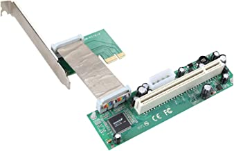JMT PCI-E PCI Express to PCI Adapter Flexible Cable Mini PCIE 1x to 16x Ribbon Riser Pillar Card Extender for Bitcoin Miner