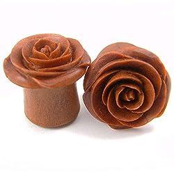 handmade wooden gifts for girlfriend ~ ear studs