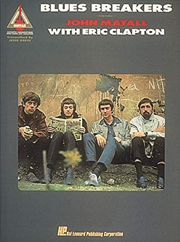John Mayall's Blues Breakers with Eric Clapton GRV: Noten für Gitarre (Recorded Versions Guitar Guitar Recorded Versions)